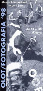 Imatge del cartell de la III biennal d'Olot Fotografia