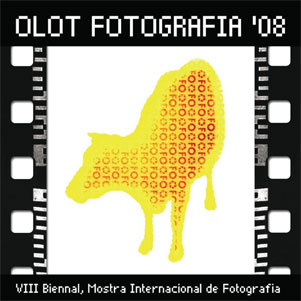 Imatge del cartell de la VIII biennal d'Olot Fotografia