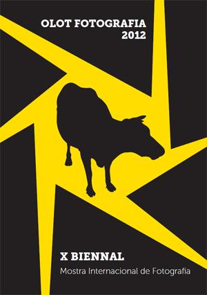 Imatge del cartell de la X biennal d'Olot Fotografia